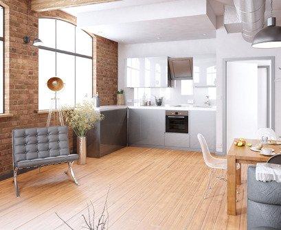 Brooklyn Lofts - Kitchen