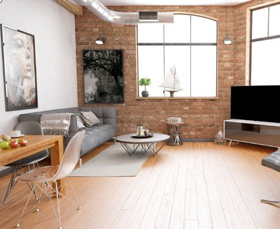 Brooklyn Lofts - Living