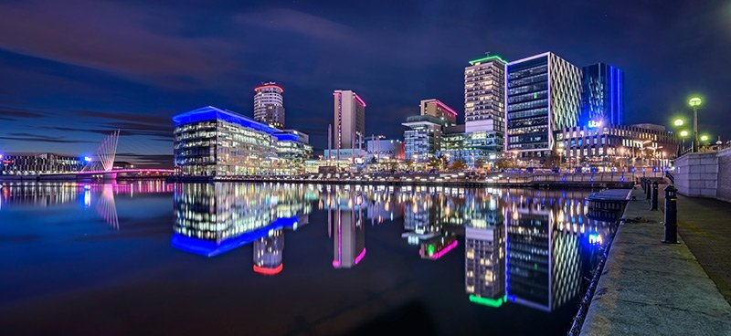 Manchester - MediaCityUK - Northern Powerhouse