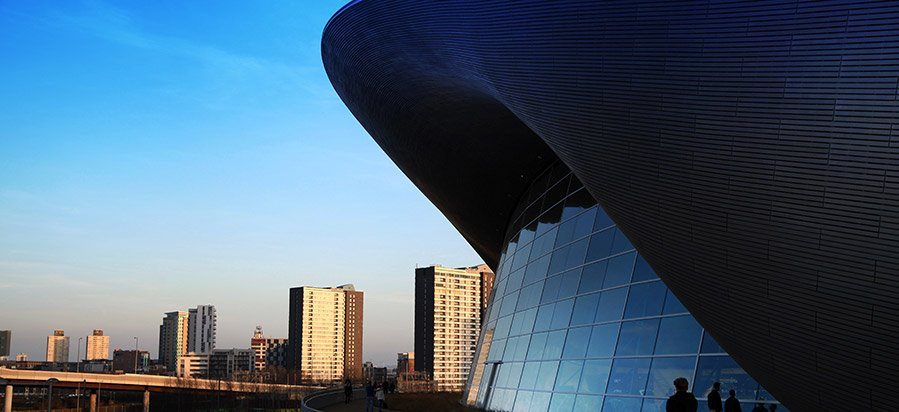 Aquatics Centre - Stratford, London