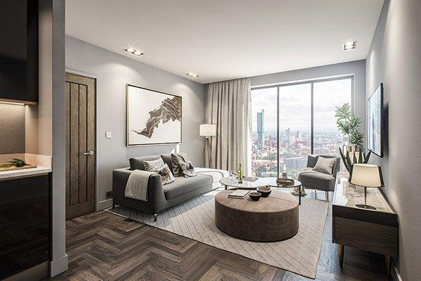 Regent Plaza Living Room