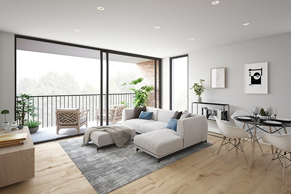Crossbank - Living Room