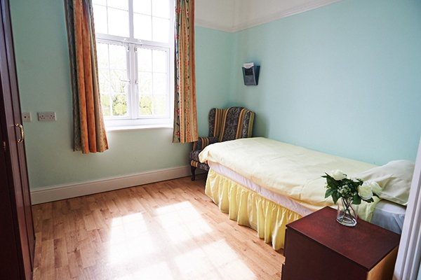 RB Care Homes Bedroom