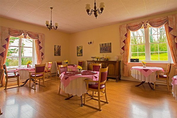RB Care Homes Dining Room