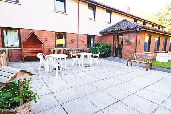 RB Care Homes Patio
