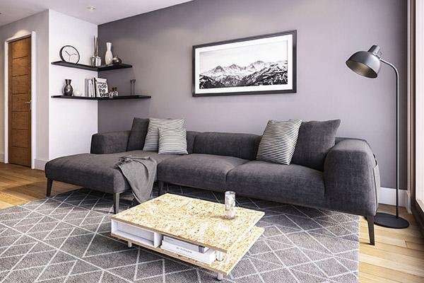 St Anne's Gardens - Living Room